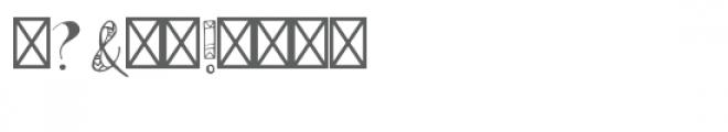 azteca font Font OTHER CHARS