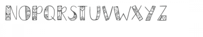 azteca font Font UPPERCASE