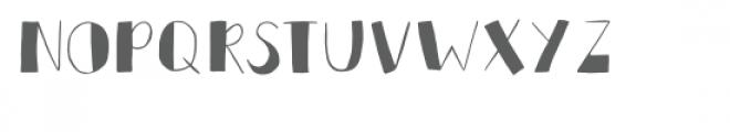 azteca font Font LOWERCASE