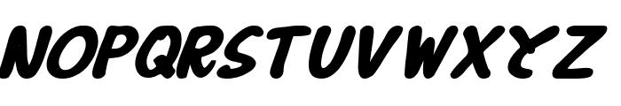 B Prahara TH_Tlsn Tgn Bold Italic Font UPPERCASE