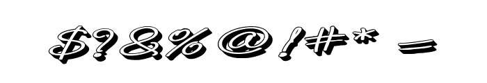 B de bonita Rotulo Font OTHER CHARS
