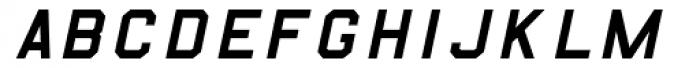 B-52-Italic Font UPPERCASE