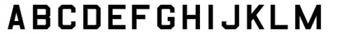 B-52-Regular Font UPPERCASE