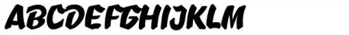 B-Movie Retro Clean Font UPPERCASE