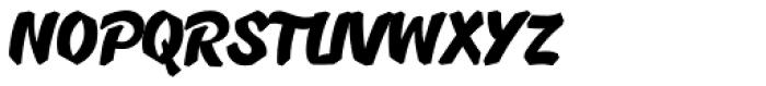 B-Movie Splatter-Clean Font UPPERCASE