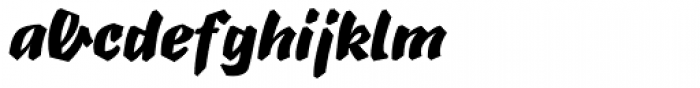 B-Movie Splatter-Clean Font LOWERCASE