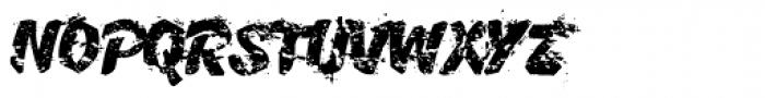 B-Movie Splatter-Extreme Font UPPERCASE
