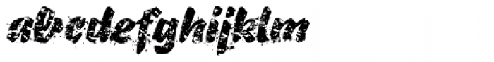 B-Movie Splatter-Extreme Font LOWERCASE