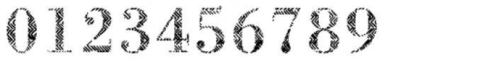 B-Scratch 0ne Font OTHER CHARS