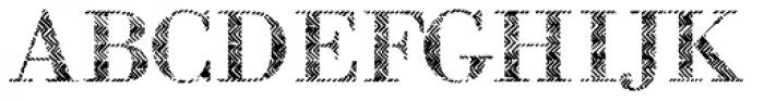 B-Scratch 0ne Font UPPERCASE