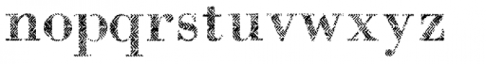 B-Scratch 0ne Font LOWERCASE