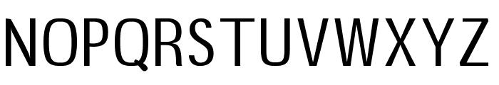 B20 Sans Font UPPERCASE