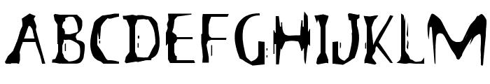 B3th-Ghostwrite-JRZ Font UPPERCASE