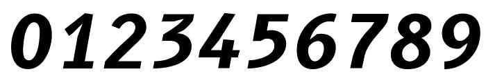 B612 Bold Italic Font OTHER CHARS
