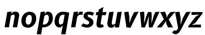 B612 Bold Italic Font LOWERCASE