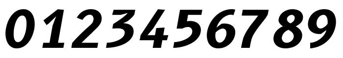 B612 Mono Bold Italic Font OTHER CHARS