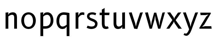 B612 Regular Font LOWERCASE