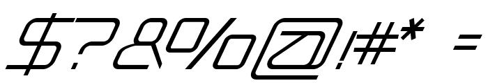 BabyloniaItalic Font OTHER CHARS