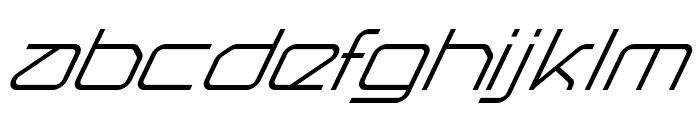 BabyloniaItalic Font LOWERCASE