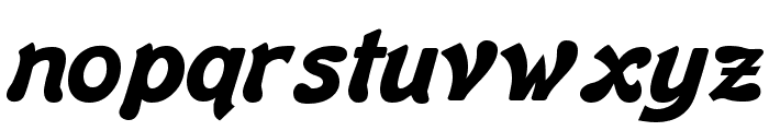 Banner Bold Font LOWERCASE