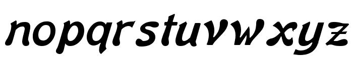 Banner Lite Bold Font LOWERCASE