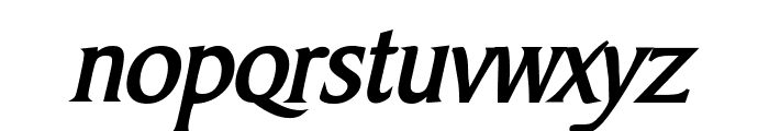 Barrett Bold Italic Font LOWERCASE