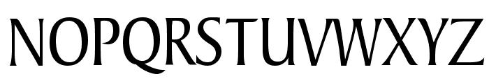 Barrett Condensed Normal Font UPPERCASE