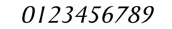 Barrett Italic Font OTHER CHARS