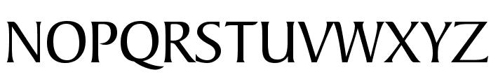 Barrett Normal Font UPPERCASE