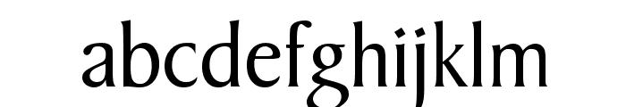 Barrett Normal Font LOWERCASE