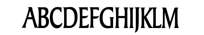 Barrett Thin Bold Font UPPERCASE