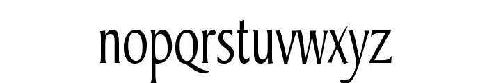 Barrett Thin Normal Font LOWERCASE