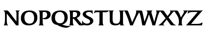 Barrett Wide Bold Font UPPERCASE