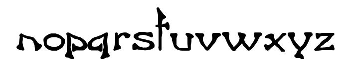 Bart Bold Font LOWERCASE