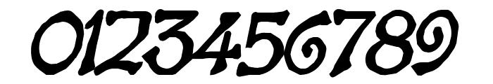 Bart Heavy BoldItalic Font OTHER CHARS