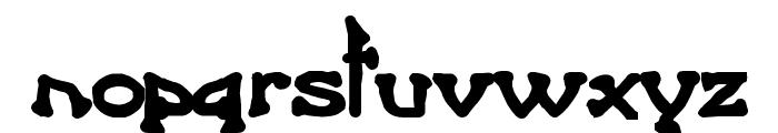 Bart Heavy Bold Font LOWERCASE