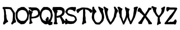 Bart Thin Heavy Bold Font UPPERCASE