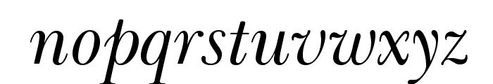 BaskervilleCyrLTStd-Incline Font LOWERCASE