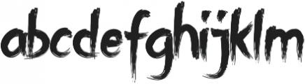 BAHRAM otf (400) Font LOWERCASE