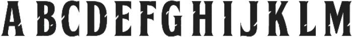 BALENCHA INTEGRA otf (400) Font UPPERCASE