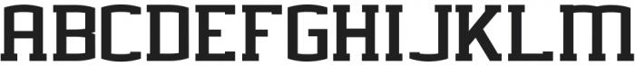 BASEBALL CHAMPS Extra-condensed Regular otf (400) Font LOWERCASE