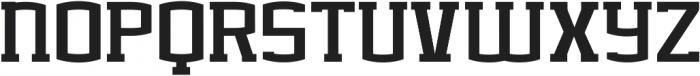 BASEBALL CHAMPS Extra-condensed Regular ttf (400) Font LOWERCASE