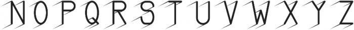 BAYANG otf (400) Font UPPERCASE