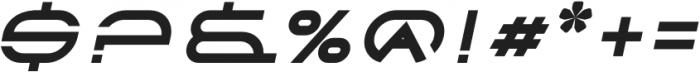 Babylon Slant Italic otf (400) Font OTHER CHARS