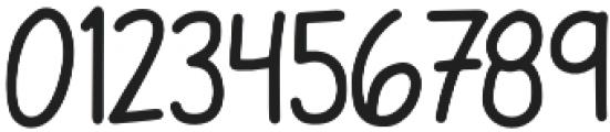Back2School otf (400) Font OTHER CHARS