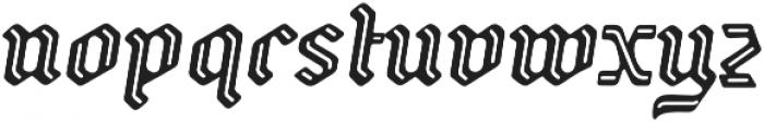 Backyard otf (400) Font LOWERCASE