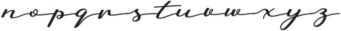 Badegan Calligraphy Regular otf (400) Font LOWERCASE