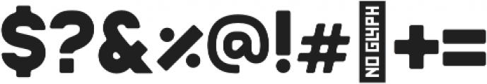 Badger Bold otf (700) Font OTHER CHARS