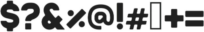 Badger Bold ttf (700) Font OTHER CHARS