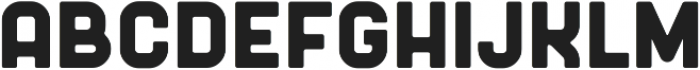 Badger Bold ttf (700) Font UPPERCASE